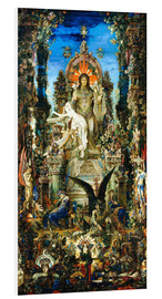 Foam board print  Jupiter and Semele - Gustave Moreau