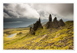 Premium poster Old Man of Storr, Isle of Skye, Scotland