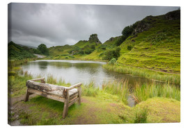 Canvas print  The Fairy Glen on Isle of Skye, Scotland - Markus Ulrich