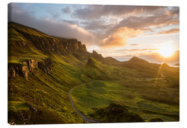 Canvas print  The Quiraing, Isle of Skye, Scotland - Markus Ulrich