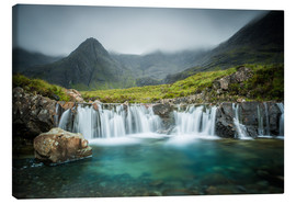 Canvas print  The Fairy Pools, Glen Brittle, Skye, Scotland - Markus Ulrich