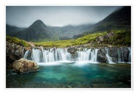 Premium poster  The Fairy Pools, Glen Brittle, Skye, Scotland - Markus Ulrich