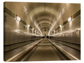 Canvas print  Famous Elbtunnel, Hamburg, Germany - Markus Ulrich