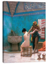 Canvas print  The Bath - Jean Leon Gerome