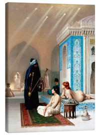 Canvas  Bad in the harem - Jean Leon Gerome