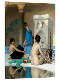 Foam board print  After the bath - Jean Leon Gerome