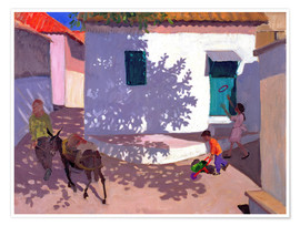 Premium poster  Green Door and Shadows, Lesbos, 1996 - Andrew Macara