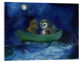 Acrylic print  The Owl and the Pussycat - Nancy Moniz