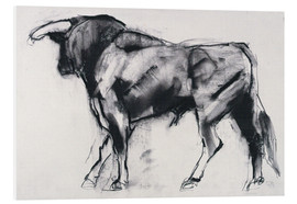 Foam board print  Bull - Mark Adlington