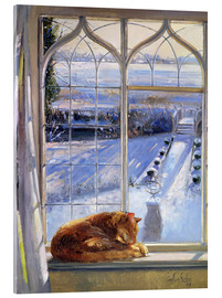Acrylic glass  Cat in the Window - Timothy Easton