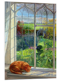 Forex  Cat in the window in summer - Timothy Easton