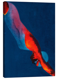 Canvas print  Diver - Graham Dean