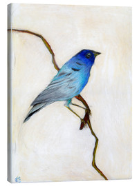 Canvas print  Little Blue, 2012, - Nancy Moniz