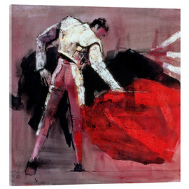 Acrylic glass  Torero - Mark Adlington