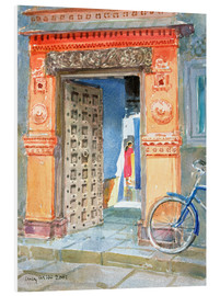 Foam board print  In the Old Town, Bhuj - Lucy Willis