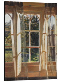 Aluminium print  The yellow window, 2013, - Helen White