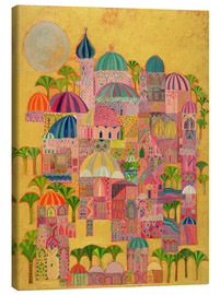 Canvas  The Golden City - Laila Shawa