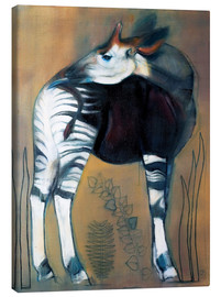 Canvas  Okapi - Mark Adlington