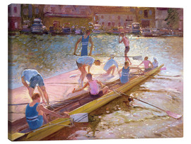 Canvas print  When rowing - Timothy Easton