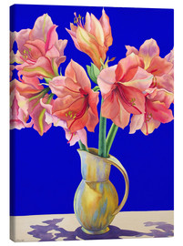 Canvas print  Amaryllis in a vase, 2007 - Christopher Ryland