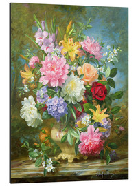 Alu-Dibond  Peonies and mixed flowers - Albert Williams