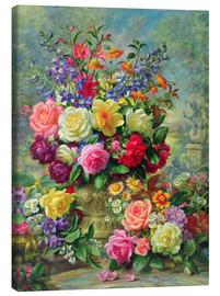 Canvas print  Sweet Fragrance of a Summer's Day - Albert Williams