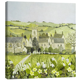 Canvas  Saint George's Day - Vanessa Bowman