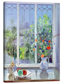 Canvas print  Still life in the window - Timothy Easton