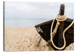 Canvas print  Baabe Ruegen fishing boat - Thomas Hagenau