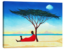 Canvas print  Turkana afternoon, 1994 - Tilly Willis