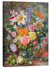 Canvas print  The Glory of Summertime - Albert Williams