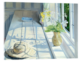 Acrylic print  Still life in front of the window - Timothy Easton