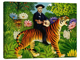 Canvas print  Henri Rousseau's Dream - Frances Broomfield