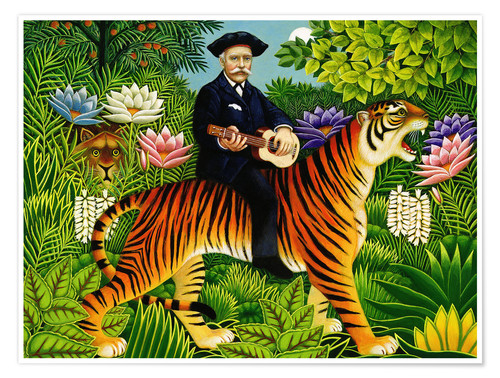 5375488a645 Henri Rousseau s Dream Posters and Prints