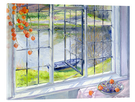 Acrylic print  View of the boat - Timothy Easton