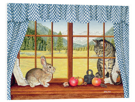Foam board print  Rimrock Cottontail - Ditz