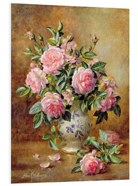 Forex  A Medley of Pink Roses - Albert Williams