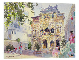Foam board print  House on the Hill, Bombay - Lucy Willis