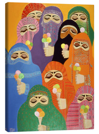 Canvas  The Impossible Dream, 1988 - Laila Shawa
