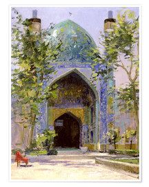 Premium poster Chanbagh Madrasses, Isfahan