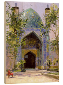 Wood print  Chanbagh Madrasses, Isfahan - Bob Brown