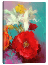 Canvas print  Poppy and Friends - Alyzen Moonshadow
