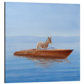 Lincoln Seligman - Donkey in a boat