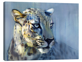 Canvas print  Leopard, Profile - Mark Adlington