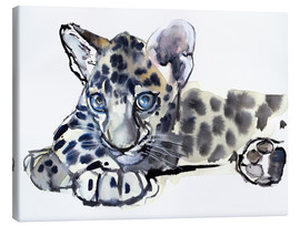 Canvas print  Little Leopard - Mark Adlington