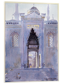 Acrylic glass  Gateway to The Blue Mosque - Lucy Willis