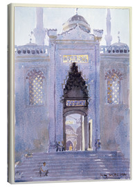 Canvas print  Gateway to The Blue Mosque - Lucy Willis