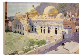 Wood print  Mosque, Taiz, Yemen - Lucy Willis