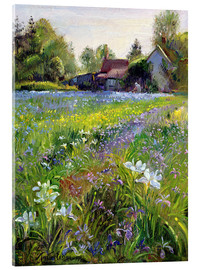 Acrylic print  Cottage in the country - Timothy Easton