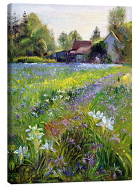 Canvas print  Cottage in the country - Timothy Easton